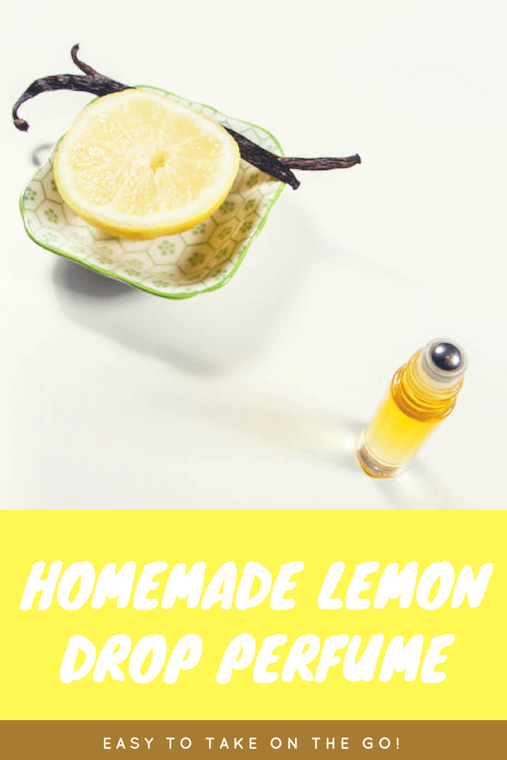 DIY Homemade Lemon Drop Perfume | MadeWithOils.com