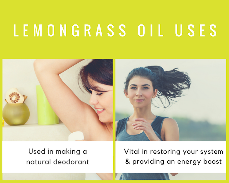 Lemongrass Oil Uses