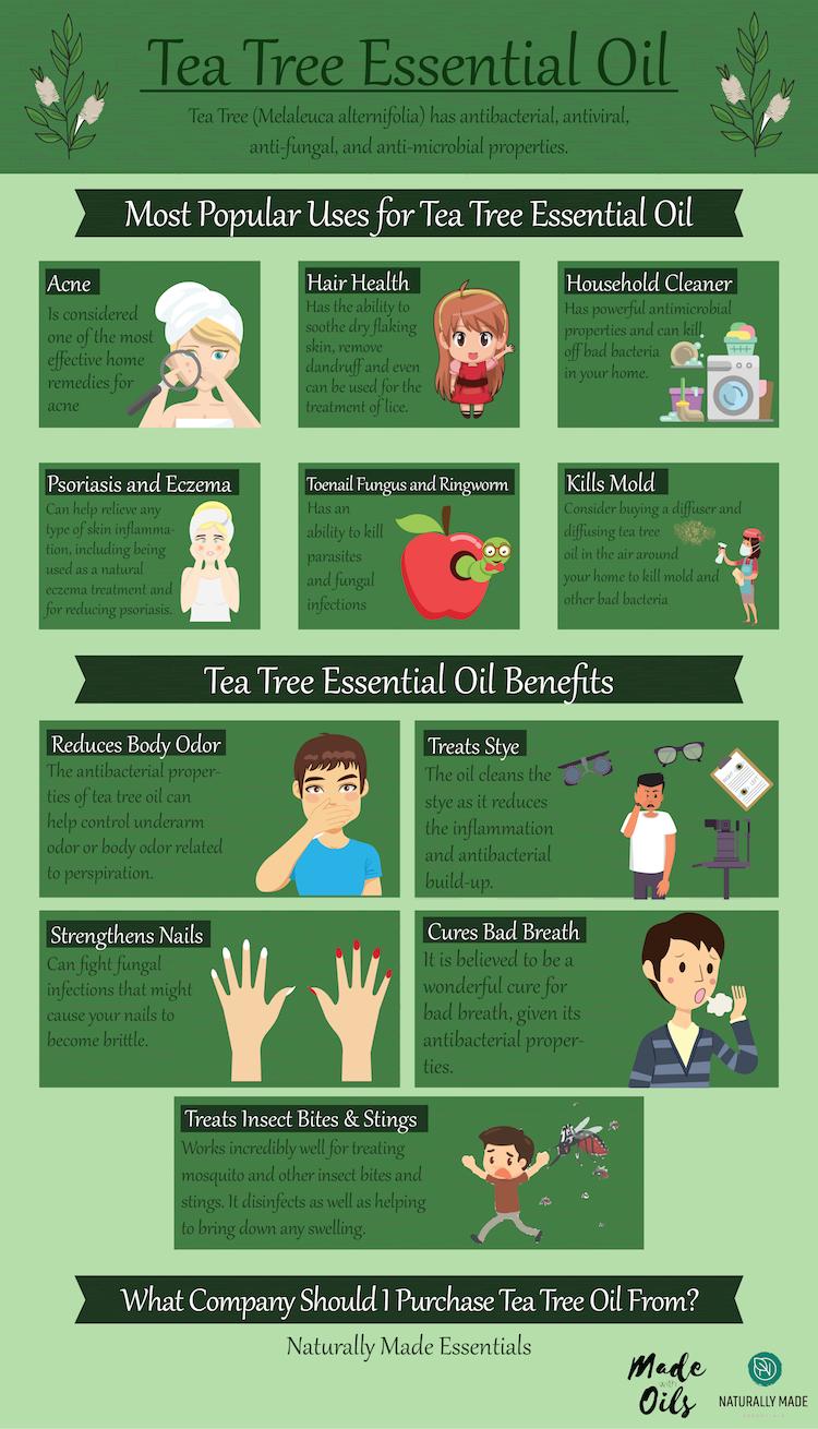 Tea Tree Essential Oil: Complete Benefits & Uses Guide | MadeWithOils.com