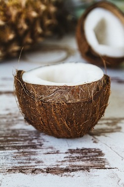 background of coconuts