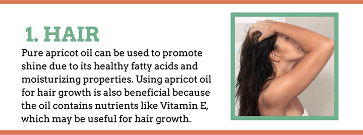 Apricot Kernel Oil for the Hair