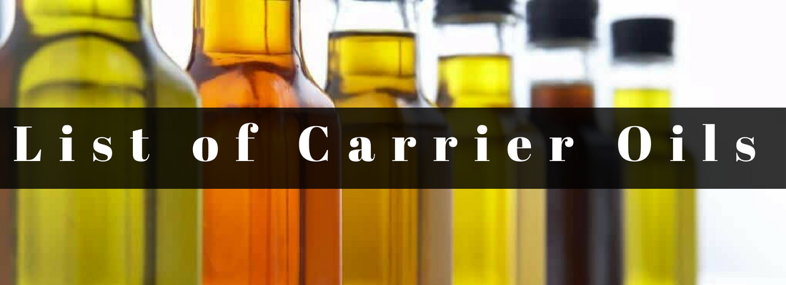 List of Carrier Oils