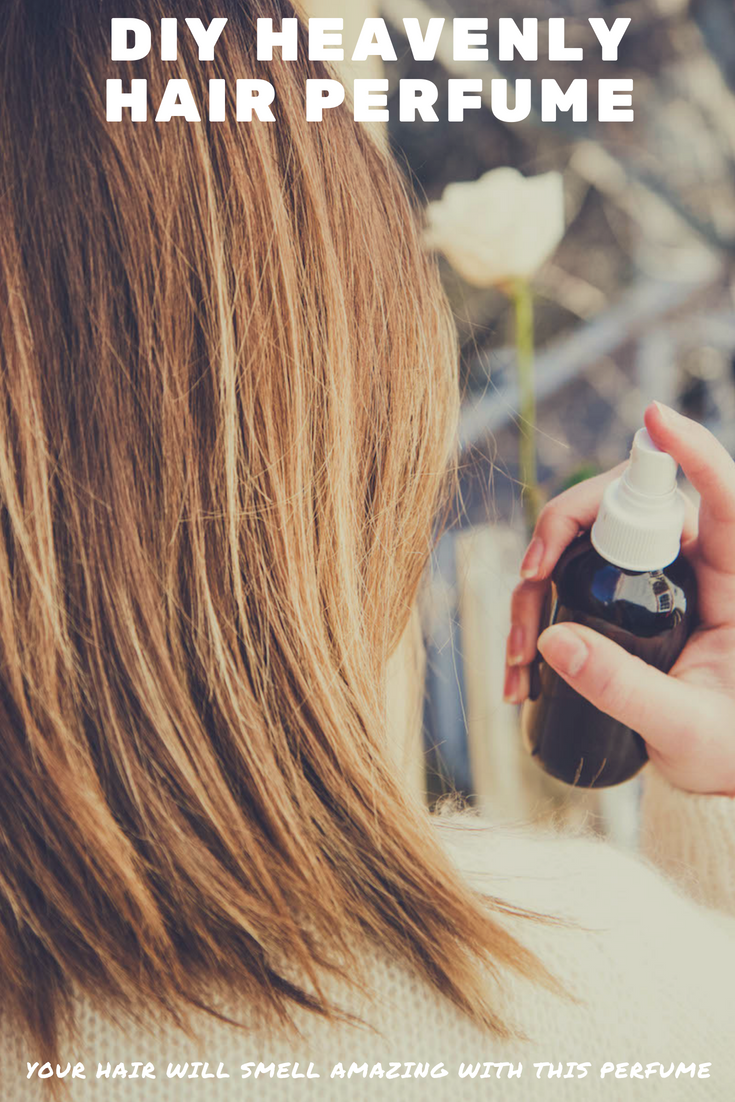 DIY Hair Perfume Spray Makes Your Hair Smell Amazing | MadeWithOils.com