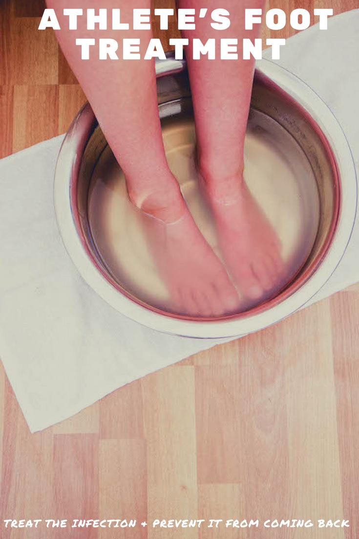 Homemade Athlete's Foot Treatment | MadeWithOils.com