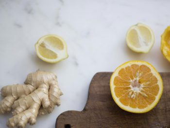 Homemade Body Wash with Ginger + Grapefruit