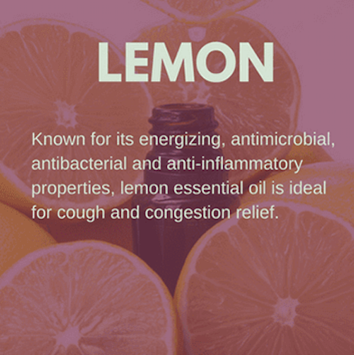Lemon Oil for Coughs