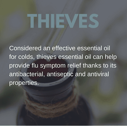 Thieves Oil for Colds