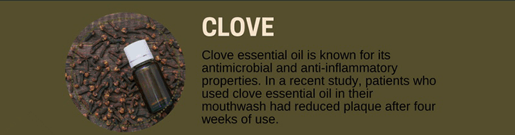 Clove Oil for Toothaches