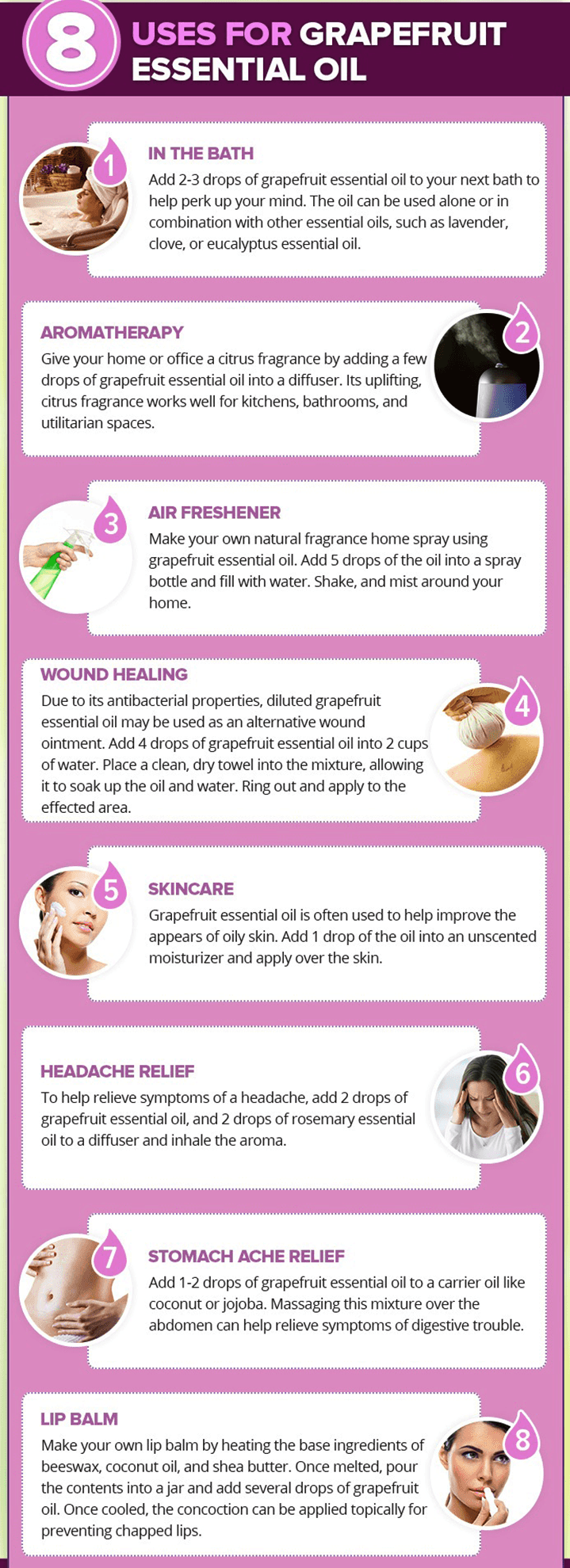Grapefruit Oil Uses