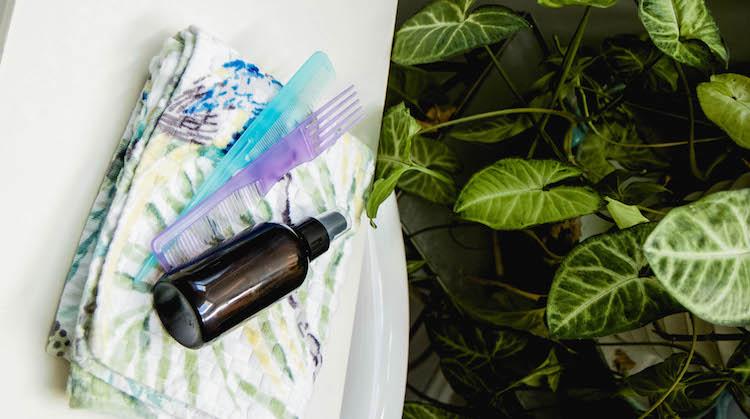 Multi-Use Natural Hair Detangler Spray Recipe