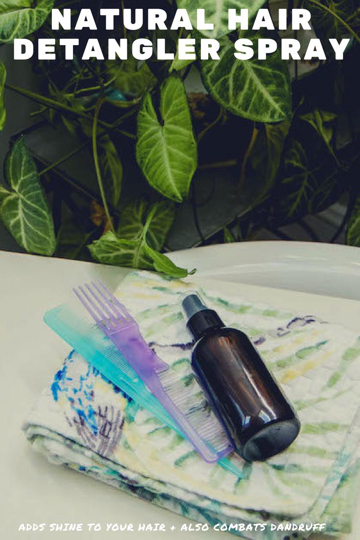 Multi-Use Natural Hair Detangler Spray Recipe | MadeWithOils.com