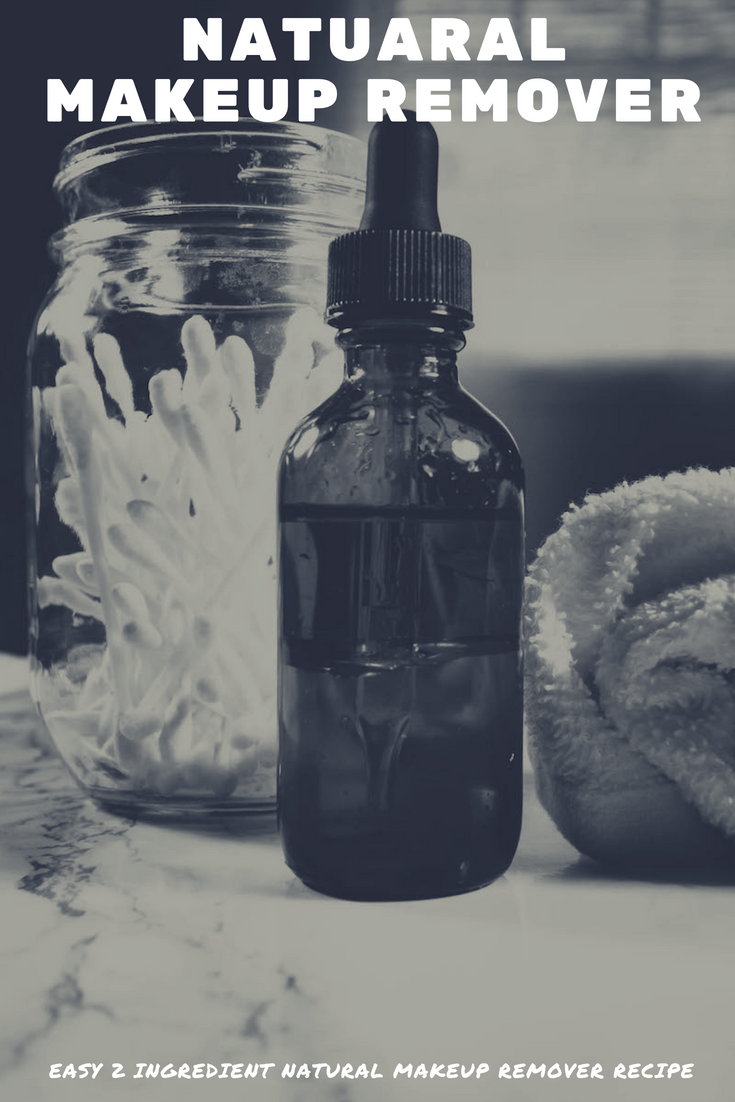Remove makeup easily with the all natural makeup remover recipe | MadeWithOils.com