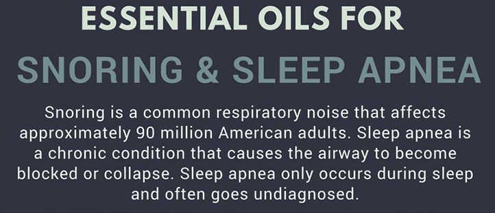 Oils for Snoring