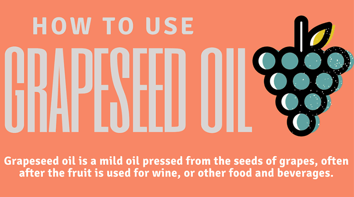 Grape Seed Oil Uses