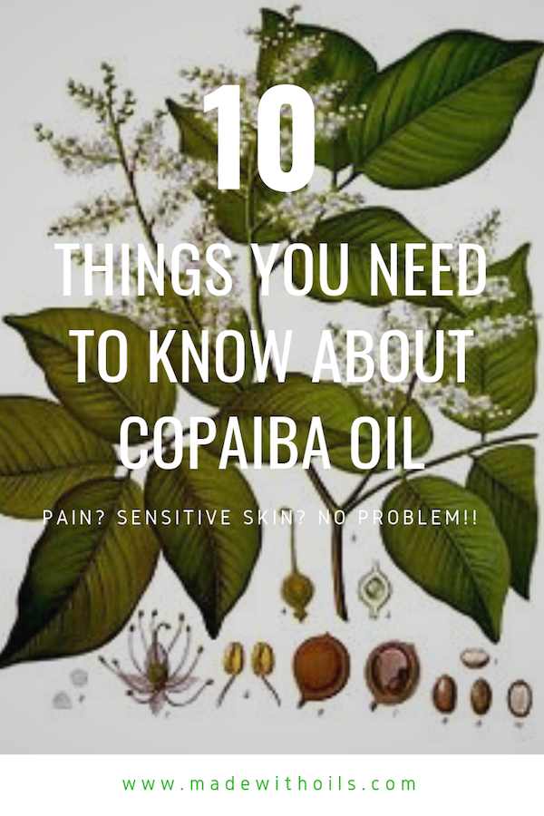 You may not know too much about copaiba essential oil, but once you learn about it's benefits, you will want to use it often. | MadewithOils.com