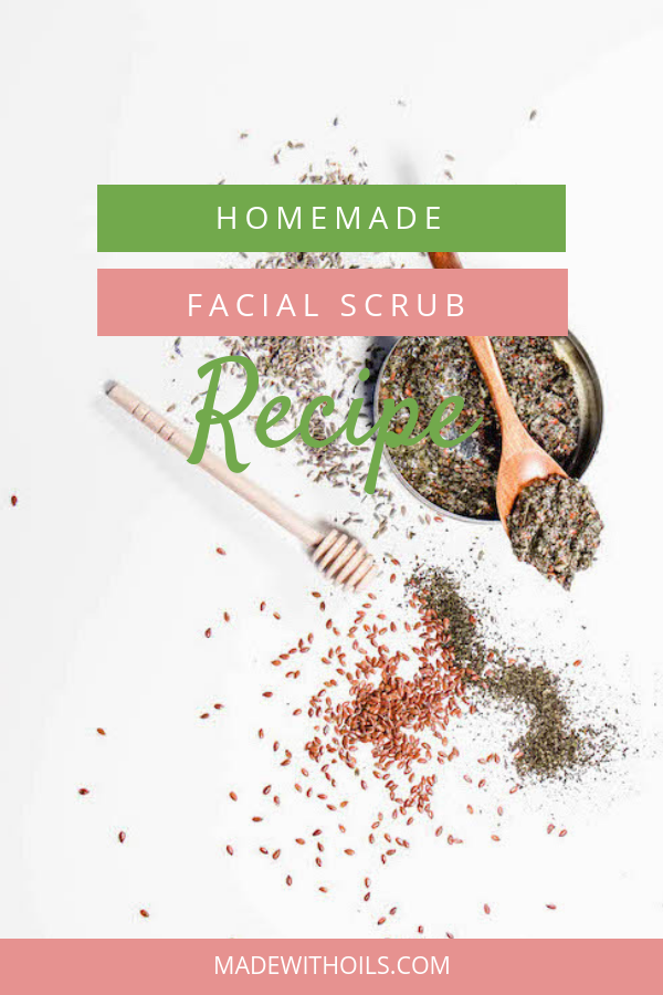 Want glowing skin? Try this all natural homemade face scrub recipe | MadeWithOils.com