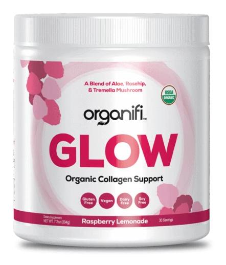 tub of organifi glow